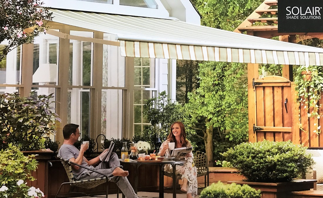 Picture - Awnings, Exterior Curtains, & Porch Enclosures - Marino Upholstery